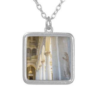 Museo de ermita del estado St Petersburg Rusia Collar Plateado