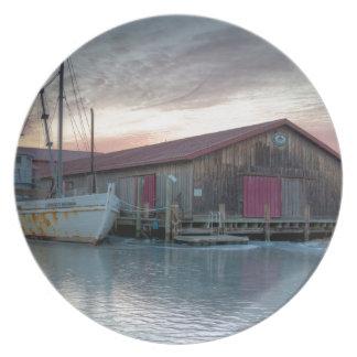 Museo marítimo de la bahía de Chesapeake Plato