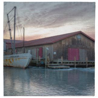 Museo marítimo de la bahía de Chesapeake Servilleta De Tela