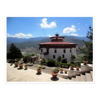 museo nacional de Bhután Postal