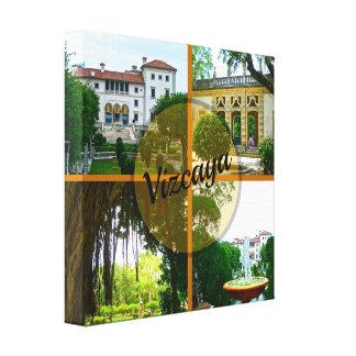 Museo y jardín botánico Miami la Florida de Lienzo