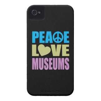 Museos del amor de la paz Case-Mate iPhone 4 cobertura
