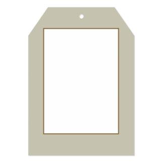 Musgo de plata en un jardín inglés del país invitación 12,7 x 17,8 cm