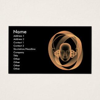 music_business_2 tarjeta de negocios