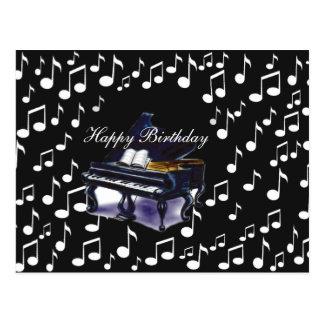Music_ del piano postal