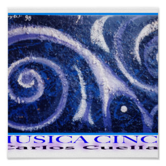 música #5 posters