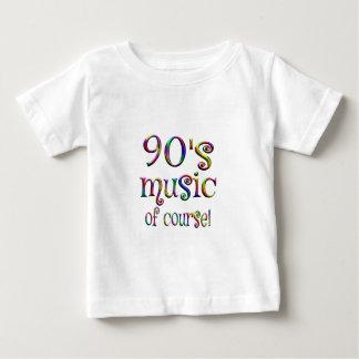 música 90s por supuesto camiseta de bebé