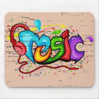 Música Alfombrilla De Ratón