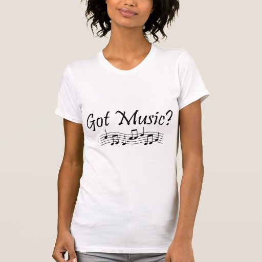 ¿Música conseguida? (Notas 1) Camisetas