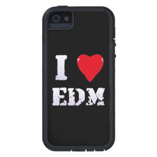 MÚSICA - CORAZÓN EDM de I - caso del iPhone 5/5S iPhone 5 Case-Mate Protector