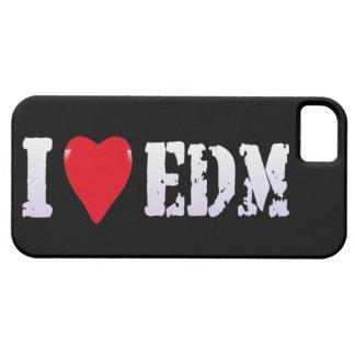 Música - corazón EDM de I - caso del iPhone Funda Para iPhone 5 Barely There