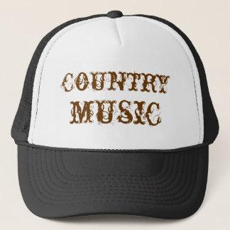 música country gorra de camionero