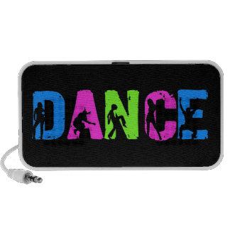 Música de danza - colores del estallido de Hip Hop Altavoz