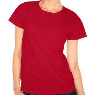 Música de la casa durante toda la noche (rojo) camiseta