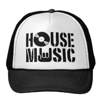 Música de la casa gorros