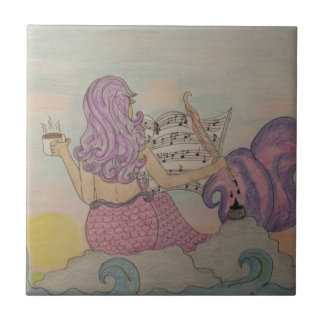 Música de la sirena azulejo