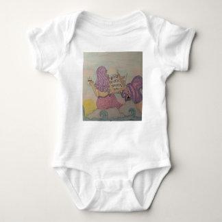 Música de la sirena body para bebé