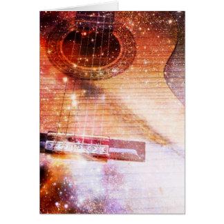Música de la tarjeta del universo