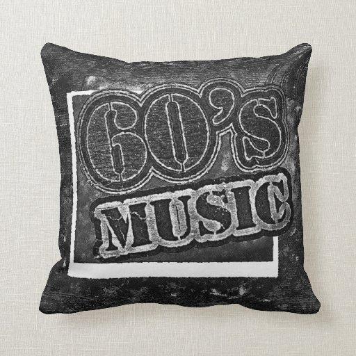 Música de los años 60 del vintage - almohada