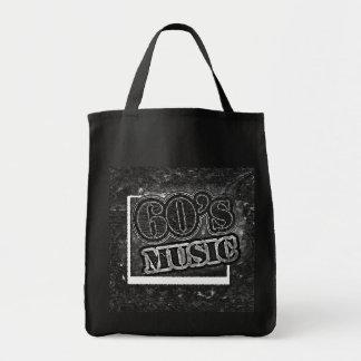 Música de los años 60 del vintage - bolsos bolsa de mano