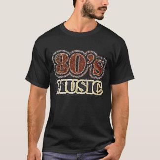Música de los años 80 del vintage - camiseta