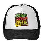 Música del amor de la paz de Rasta Gorra
