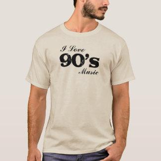 Música del amor del personalizado I (año) Camiseta