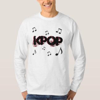 Música del coreano del kpop del K-Estallido Camiseta