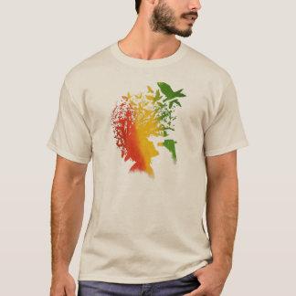 Música del hombre del rasta del reggae de Cori Camiseta