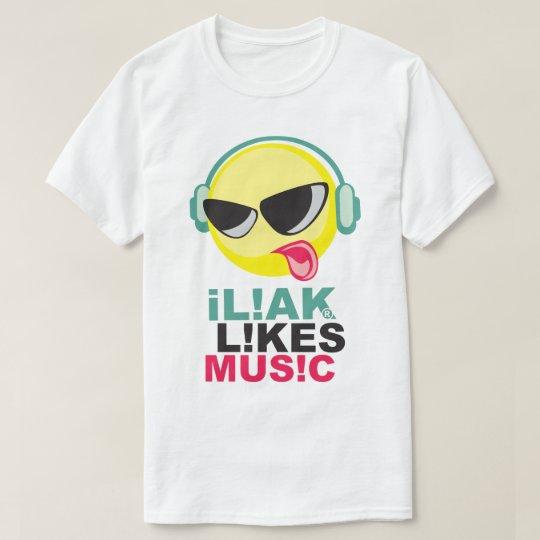 música del iLiak Camiseta
