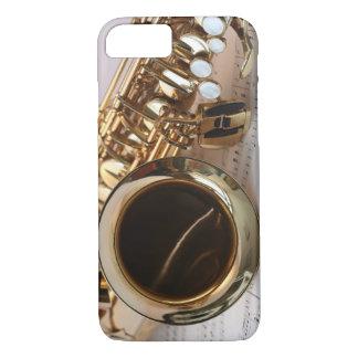 Música del saxofón del alto funda iPhone 7