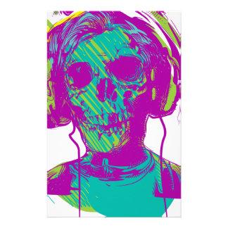 Música del zombi papelería