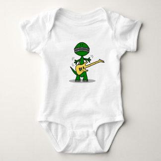 Música divertida de la guitarra de T-Rex Body Para Bebé