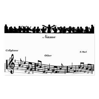 Música Dreamer_ Tarjeta De Negocio