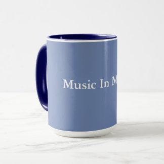 Música en mi vida - taza de café