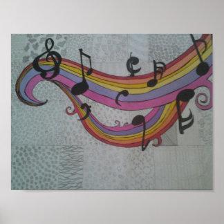 Música para la vida póster