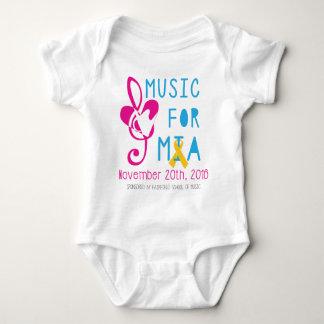 Música para Mia Body Para Bebé