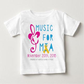 Música para Mia Camiseta De Bebé