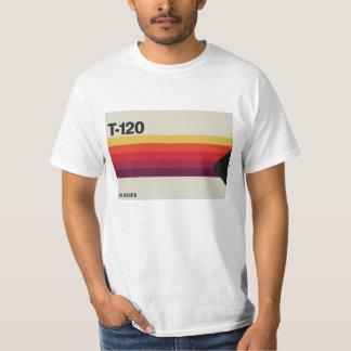 Música retra y gráfico de la cinta de cinta de camiseta