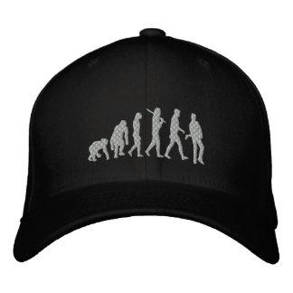 Música rock de la evolución del músico de la evolu gorras bordadas