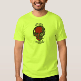 música satánica camisetas