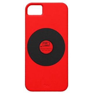 Música sucia sucia LP de la casa iPhone 5 Case-Mate Carcasa