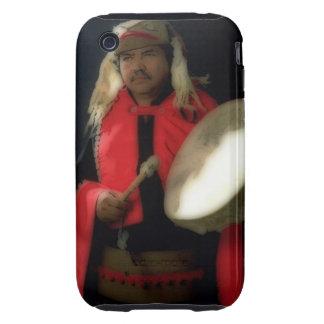 Musician tribal iPhone 3 tough cárcasas
