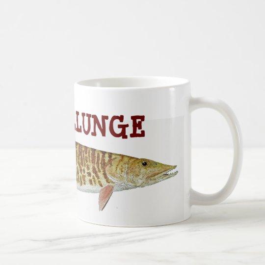 MUSKELLUNGE TAZA DE CAFÉ