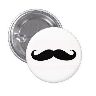 Mustachify Pin Chapa Redonda De 2,5 Cm