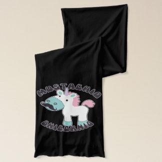 ¡Mustachio Unicornio! Bufanda