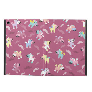Mustachio Unicornio Funda Para iPad Air