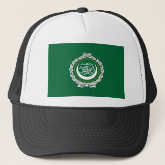 Musulmanes islámicos del símbolo de la bandera de gorra de camionero