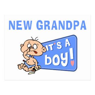 Muy divertido es un nuevo regalo del abuelo del postal
