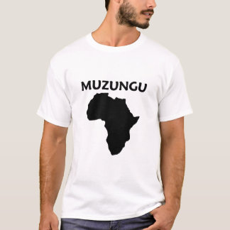 muzungu camiseta